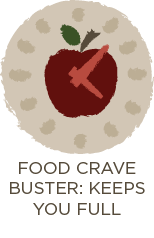 Food Crave Buster: Keeps You Full